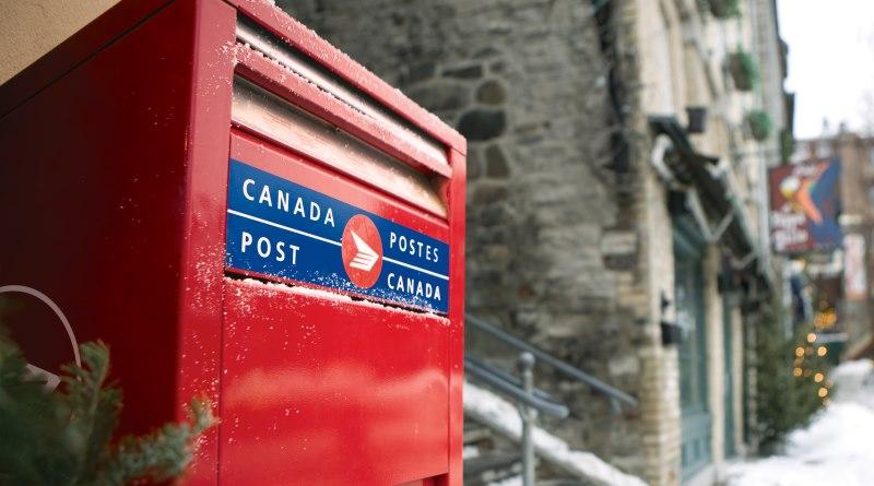 加拿大郵政郵箱