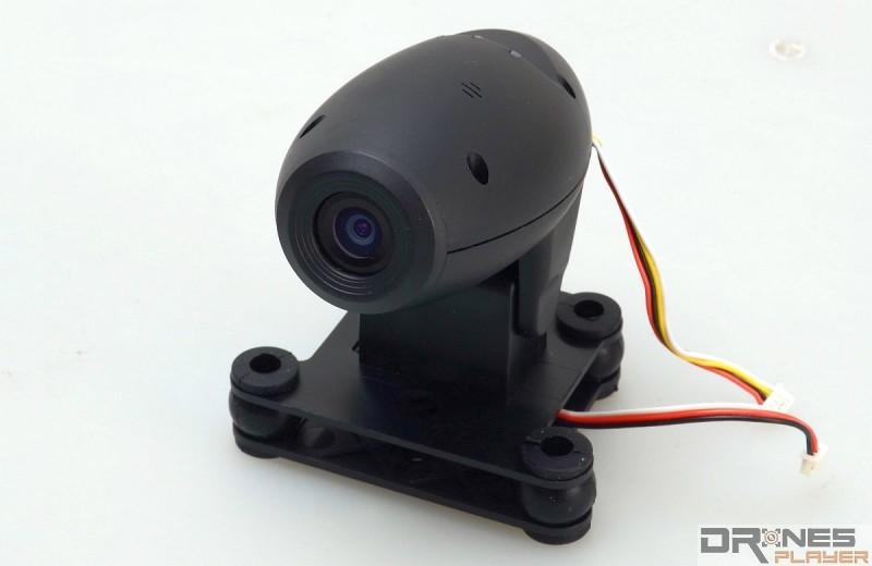Cheerson CX-35 預載 200 萬像素航拍相機模組,支援 720p FPV 航拍。