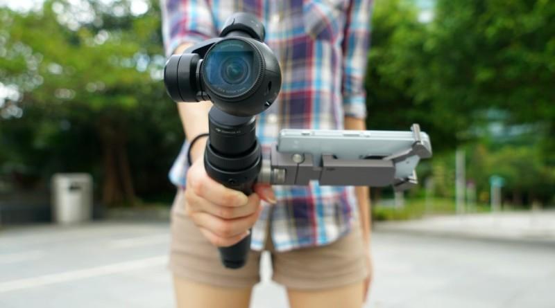 DJI Osmo 手持雲台相機評測