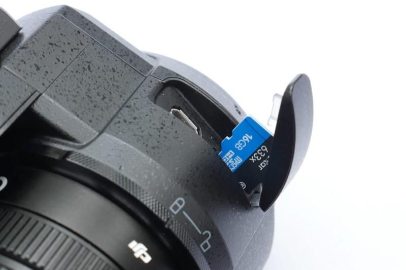 DJI Zenmuse X5 跟機送 Lexar micro SD 卡