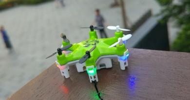 世上最小的六旋翼無人機 Fayee FY805 性能實測