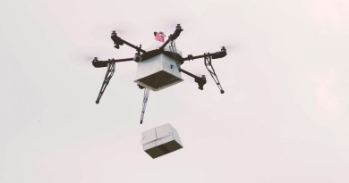 近岸作業醫療無人機 Flirtey 出航 挑戰運送血包高難度任務