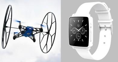 Hug Smartwatch 讓你單手操控無人機 女生遇險更可發訊求救