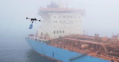 船運巨擘 Maersk 看好無人機送貨 空運零件大省開支
