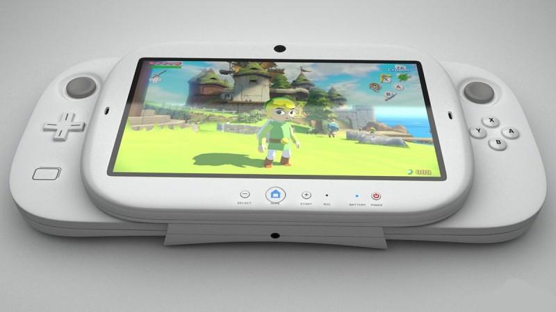 除 VR 功能外,其實 Nintendo NX 本身都有亮點:控制器內嵌 5 至 7 吋屏幕,可當作手提遊戲機來玩!