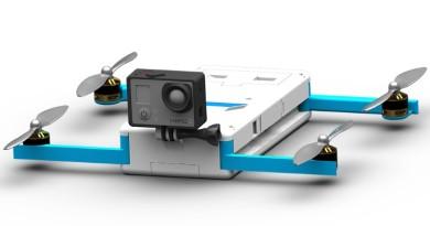 GoPro Karma 空拍機外形設計流出:方形飛行器•折疊式軸臂?