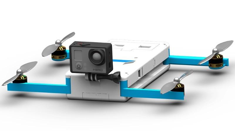 GoPro Karma 無人機概念設計圖 Quadbox