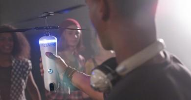 ROAM-e 飛行相機 9 月上市!人臉辨識追蹤•360 度環繞自拍