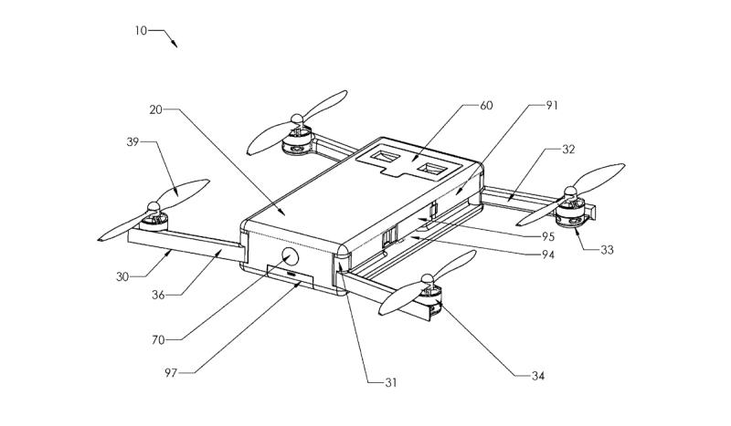 Ryan Goldstein 無人機專利(方形飛行器)