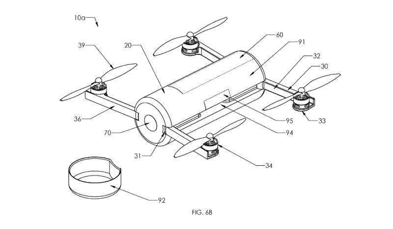 Ryan Goldstein 無人機專利(圓筒形飛行器)