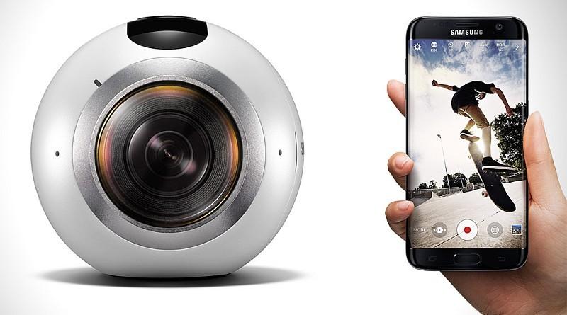 Samsung 手機用戶可遙控 Gear 360 進行 VR 拍攝,又可經由手機上載影片到 Samsung VR 網站。