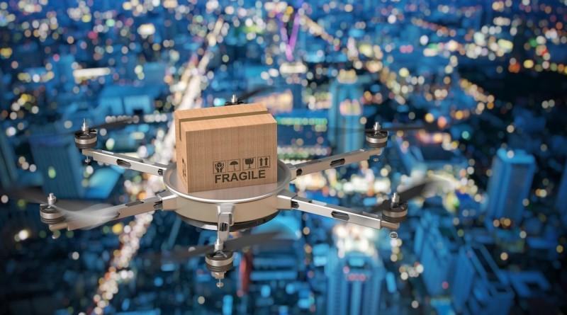 美國 無人機 送貨