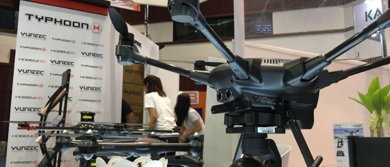 Yuneec Typhoon H RealSense 版泰國發布會