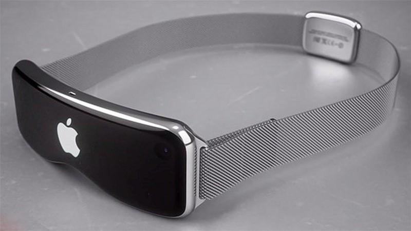 網上流傳的Apple VR眼鏡是這個樣子,採用纖薄的曲面屏幕;盡管這是網傳的概念設計圖片,但目前不排除這種可能性。