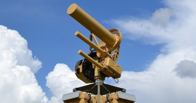 反無人機電磁砲台 AUDS 進駐美機場 8 秒降伏入侵飛行器