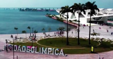 巴西奧運預熱活動 Facebook Live 直播無人機光影飛行表演