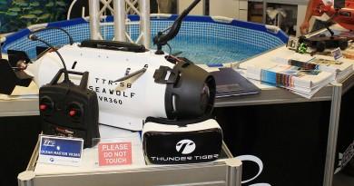 Computex 直擊:雷虎水中無人機搭 VR 眼鏡變 FPV 海底奇兵
