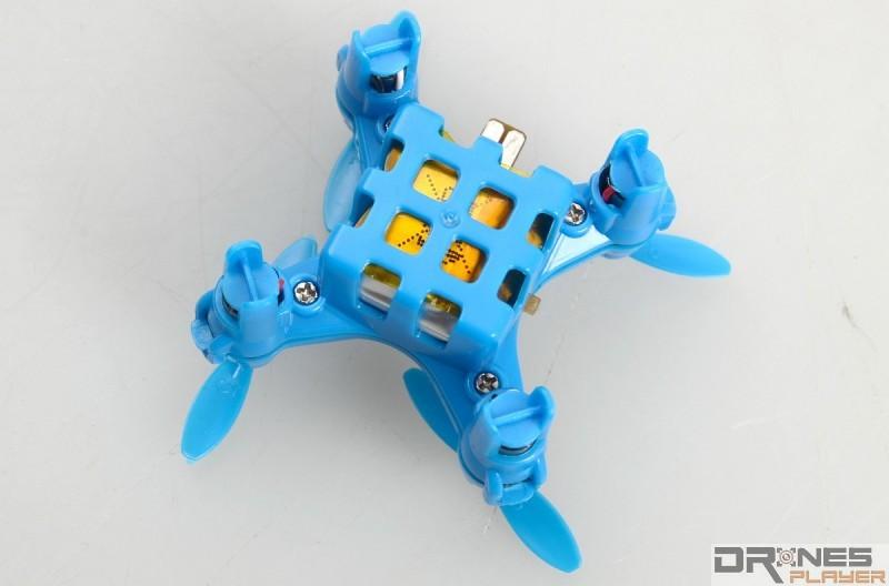 Create Toys E904 內建 3.7V / 80mAh 式充電池。