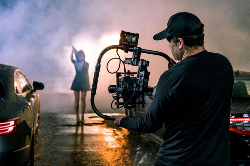 DJI Ronin-MX 手持雲台適用電影製作。