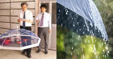 無人機雨傘自動追蹤用戶遮風擋雨,你敢讓它飛到在頭上嗎?