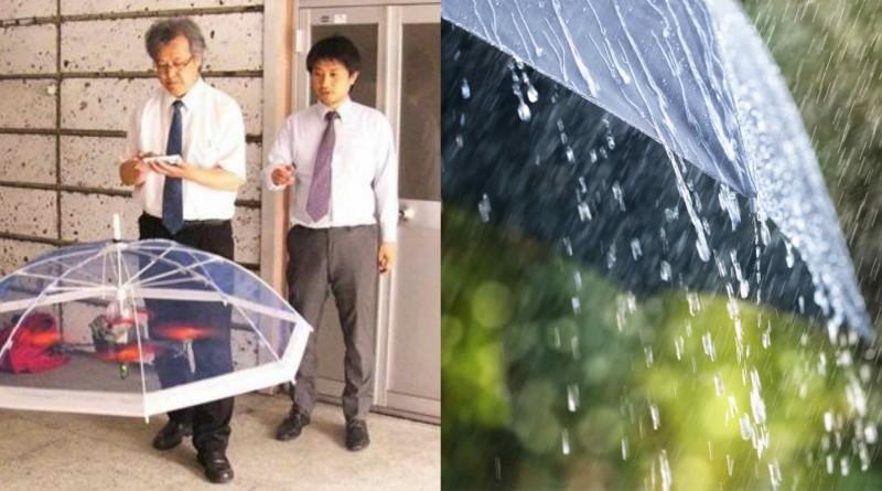 無人機 雨傘 日本
