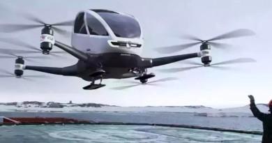 爭做天空中的 Uber!自駕無人機億航 184 擬美國試飛