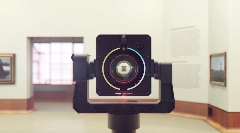 Google Art Camera 以 10 億像素記錄藝術畫作