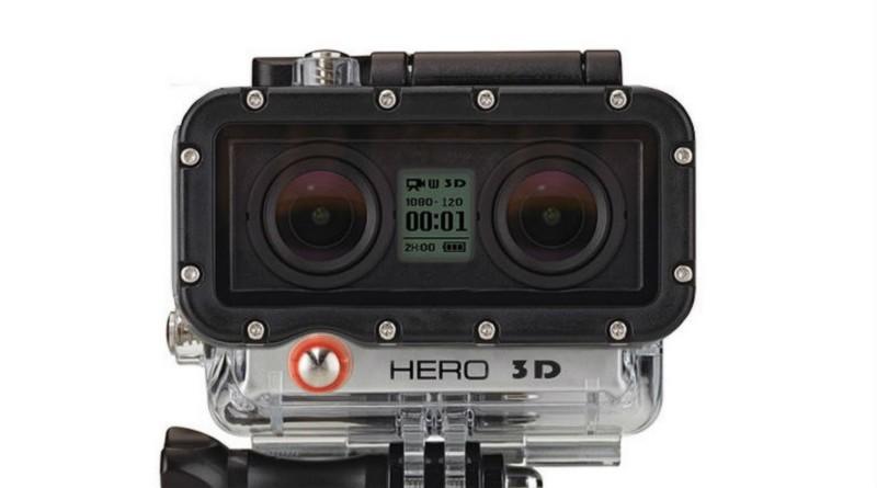 GoPro Hero 5 運動相機或具雙鏡頭可拍 3D 影片