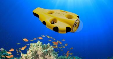 海底自動追蹤航拍!水中無人機 iBubble 助你攝獵海洋生物