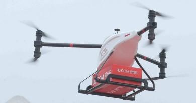 京東送貨無人機首度試飛 闢中國農村網購物流圈