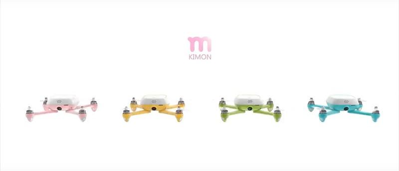 Kimon 雖有粉紅、黃、綠、藍 4 色版本,但又不容許消費者自由選擇,安排非常奇怪。