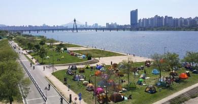 韓國首個無人機公園 6·25 啟用 30 部空拍機漢江岸邊任飛翔