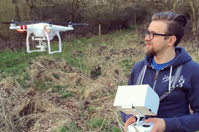 英國無人機玩家 Flint 用空拍機合法放飛,卻被警察指犯刑事罪行。