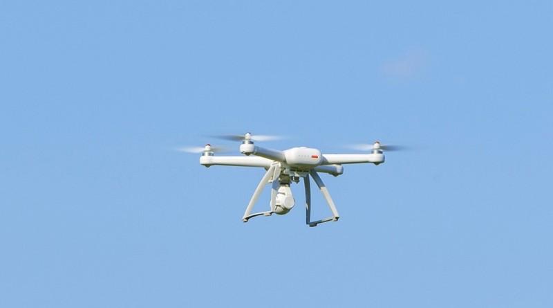 小米無人機飛行中