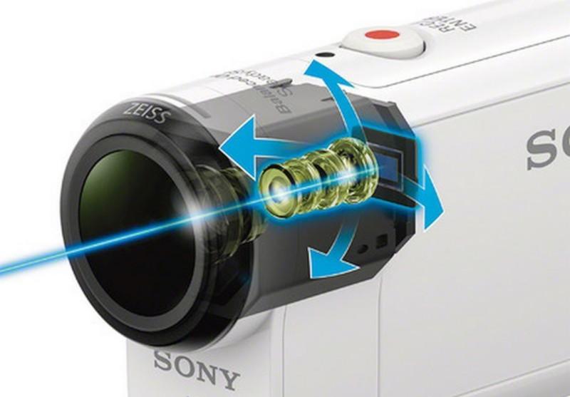 Sony FDR-X3000 與 HDR-AS300 加入光學防震系統,以提供更穩定的影像。
