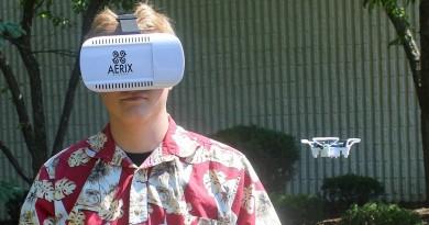 全球最小VR無人機 Aerix VIDIUS VR 平玩虛擬實境空拍飛行