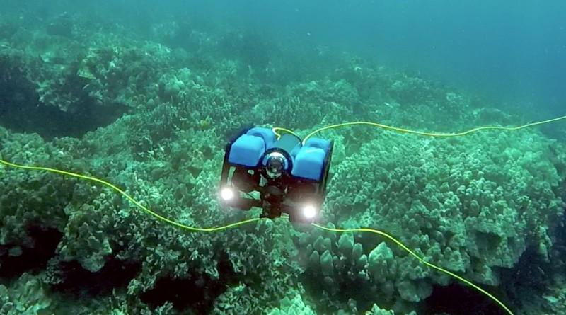 BlueROV2 水中無人機深潛 100 米
