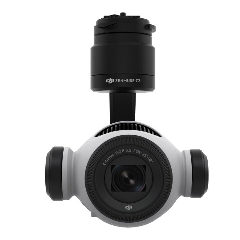 DJI Zenmuse Z3 航拍相機的正面
