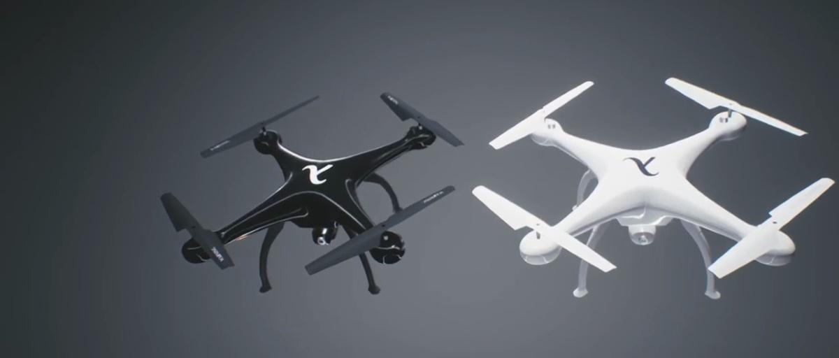 Drone Racing Game 套裝內的競速無人機