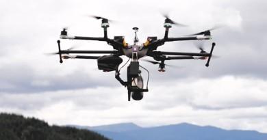 DroneSeed 無人機飛入森林 子彈噴射式播種植樹