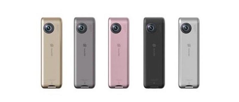 Insta360 Nano 備有灰、黑、金、銀、粉紅五種機身顏色可供選擇。