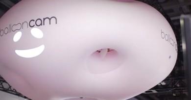 Panasonic Ballooncam 超萌無人機 軟綿綿機身 最宜空拍人群