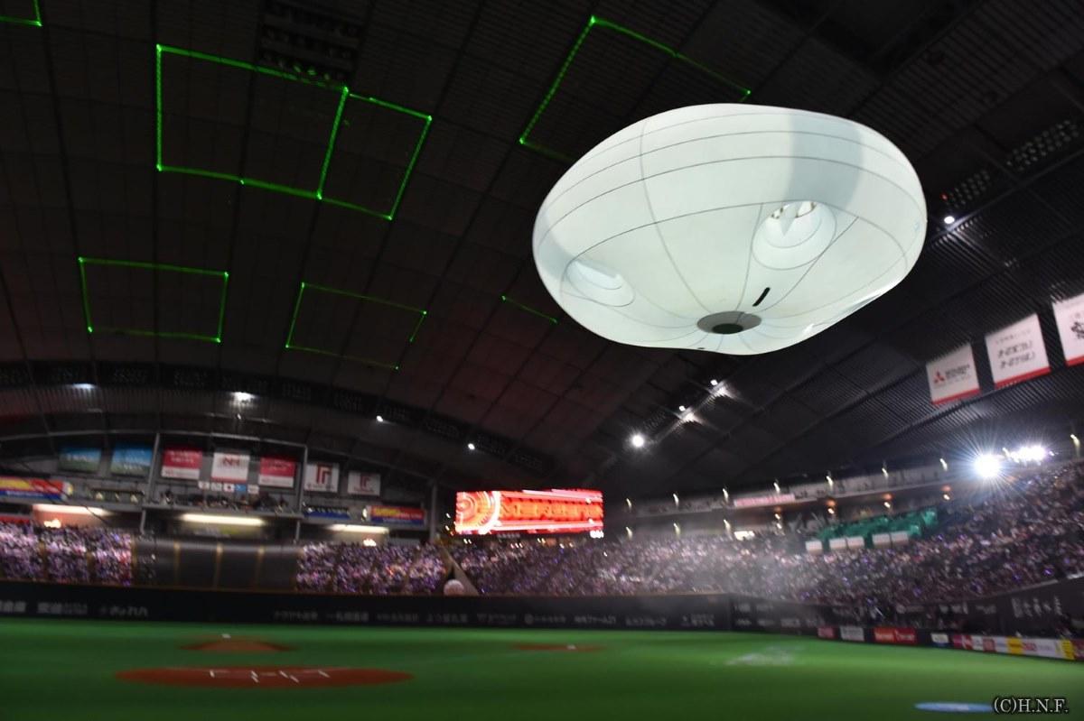 Panasonic Ballooncam 在運動場內