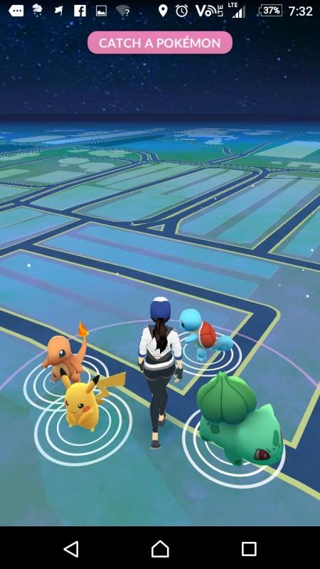 Pokémon Go 起始畫面