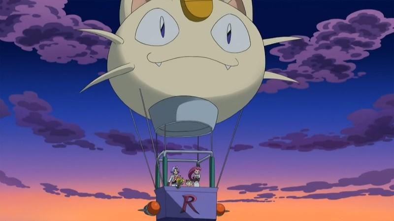 《寵物小精靈》火箭兵團熱氣球截圖