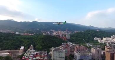 空拍機闖松山機場 近拍客機惹非議 跑道前後 5 公里全禁飛