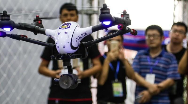 第三屆廣州無人機展覽會上的 Walkera Voyager 4