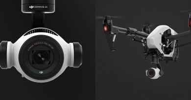 DJI 首部光學變焦航拍相機 Zenmuse Z3 瞄準測量市場