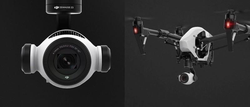 DJI 首部光學變焦航拍相機 Zenmuse Z3