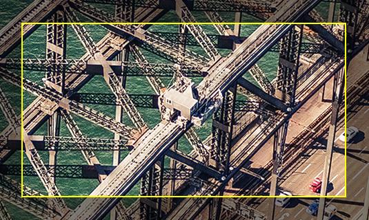 DJI ZENMUSE Z3 航拍相機 7 倍變焦後的拍攝圖片。